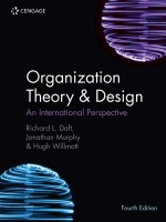 """""""Organisation Theory and Design"""" (9781473765955)"""