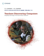 "Teachers Discovering Computers: Integrating Technology in the South African Classroom 1e"" (9781473767294)"