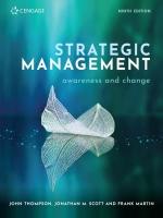 Strategic Management Awareness and Change 9e