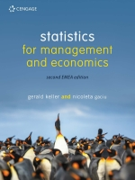 """Statistics for Management & Economics"" (9781473768284)"