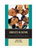 Conflicts in Culture 9781475805192