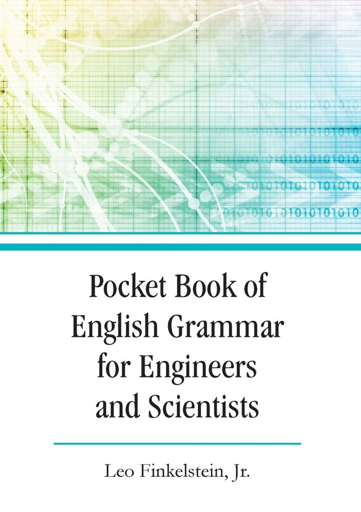 Pocket Book of English Grammar for Engineers and Scientists