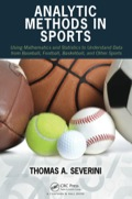 Analytic Methods in Sports 9781482237023R90