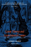 Game Theory and Experimental Games 9781483137148