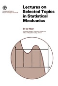 Lectures on Selected Topics in Statistical Mechanics 9781483150772
