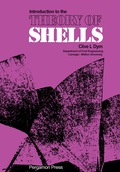 Introduction to the Theory of Shells 9781483187198