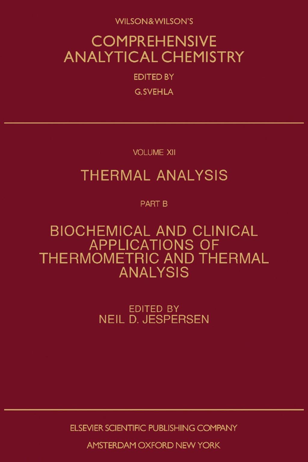Thermal Analysis (eBook)