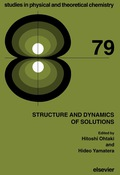 Structure and Dynamics of Solutions 9781483291420