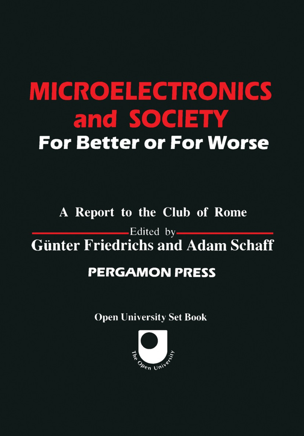Microelectronics and Society (eBook)