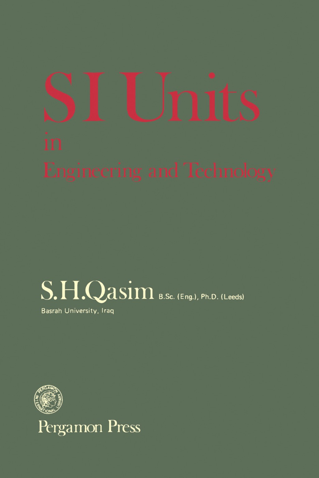 SI Units in Engineering and Technology (eBook)