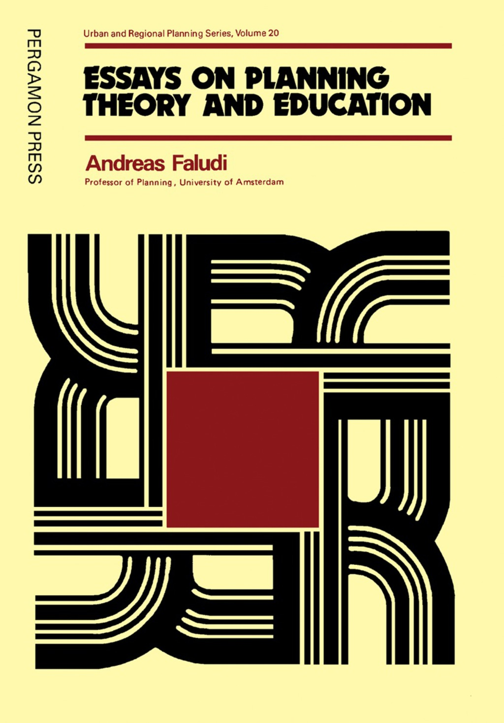 Essays on Planning Theory and Education (eBook)