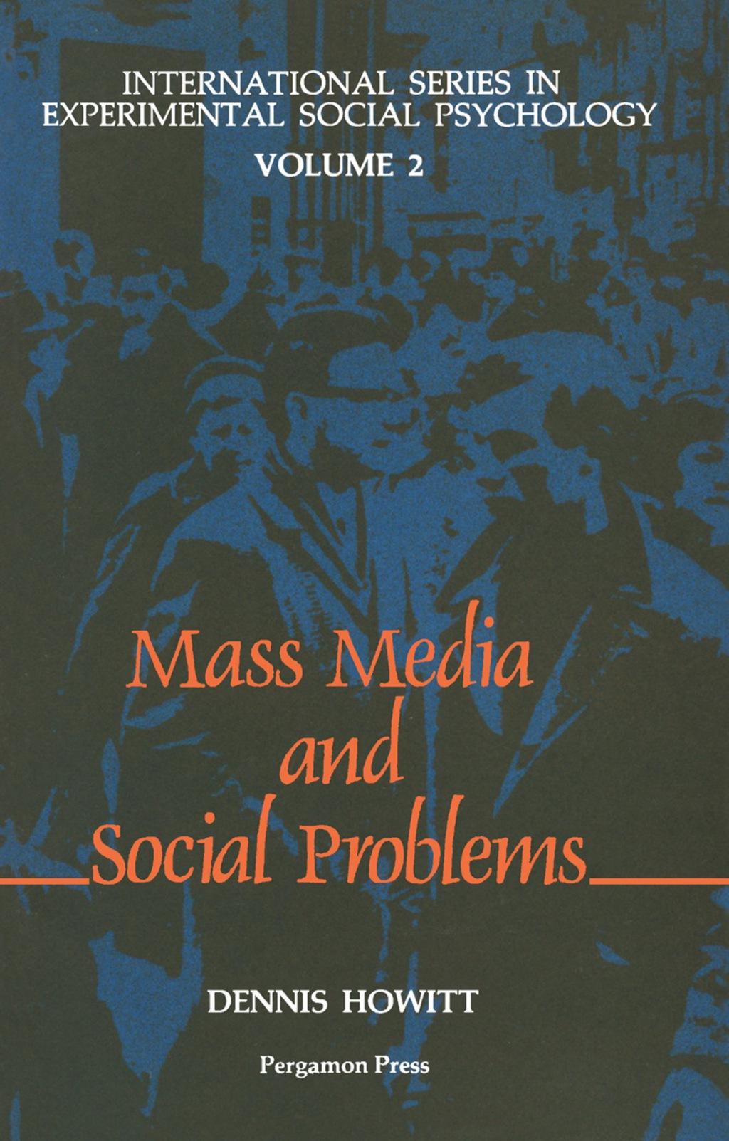 The Mass Media & Social Problems (eBook)