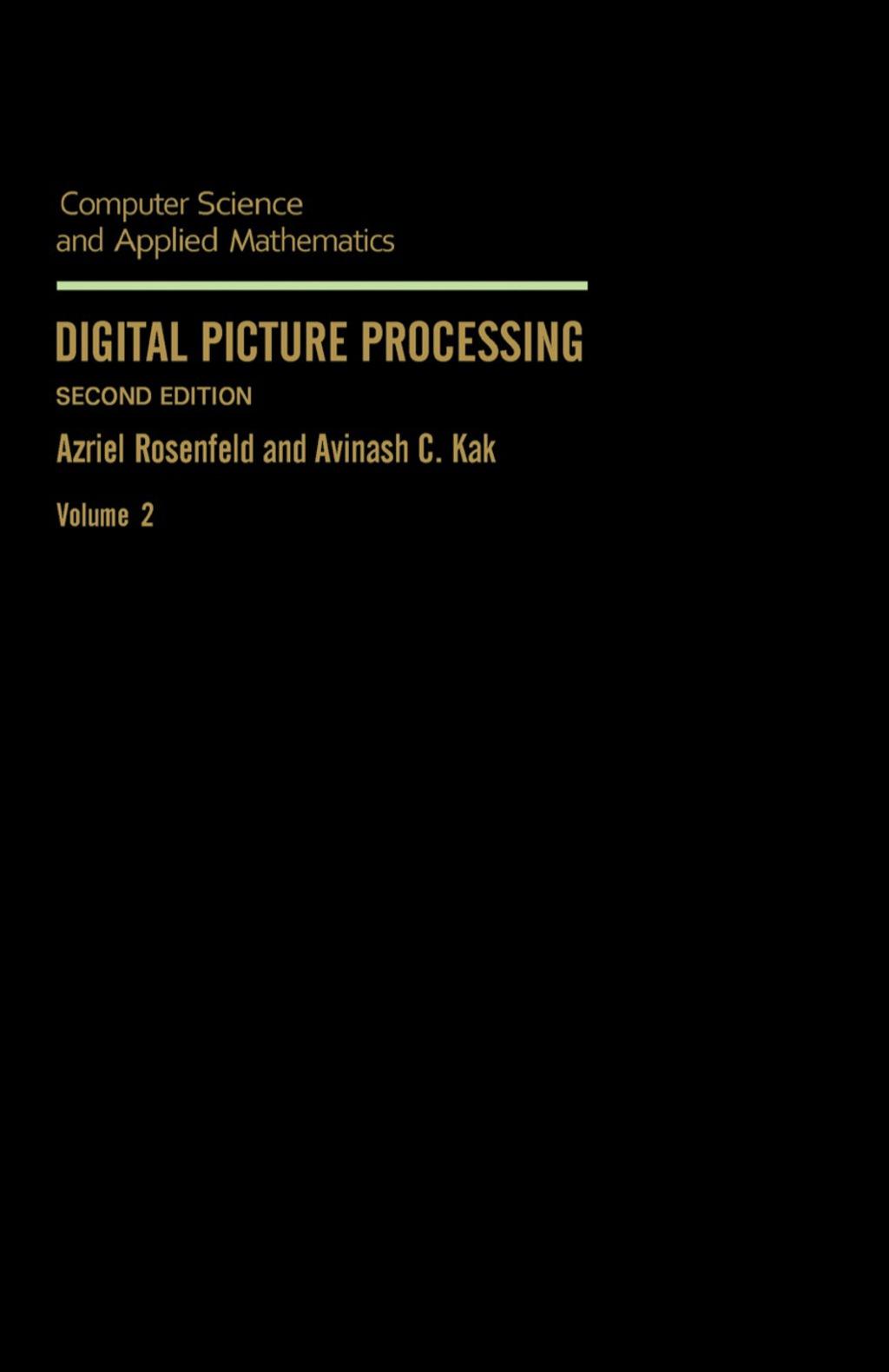 Digital Picture Processing (eBook)