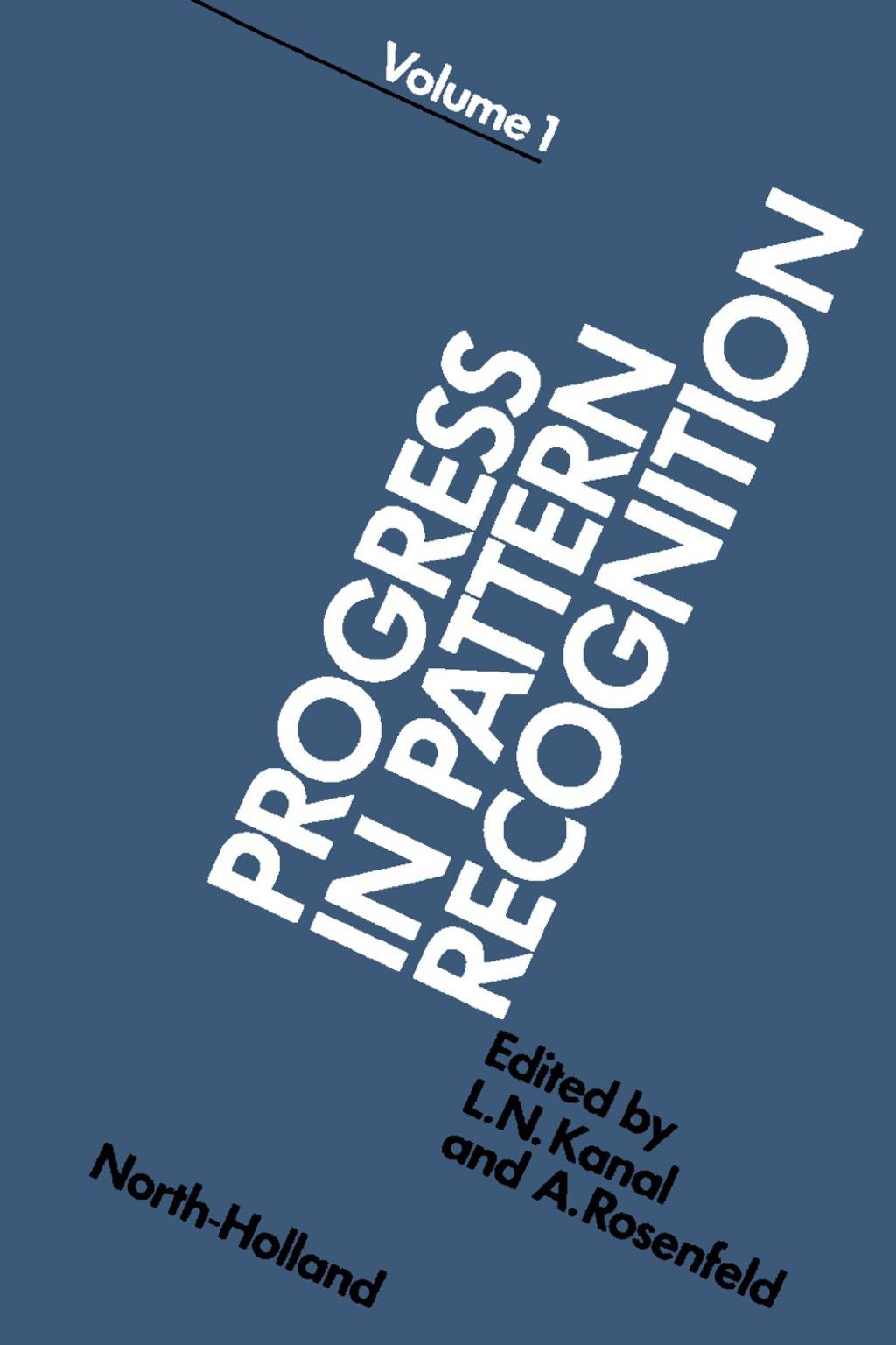 Progress in Pattern Recognition 1 (eBook)
