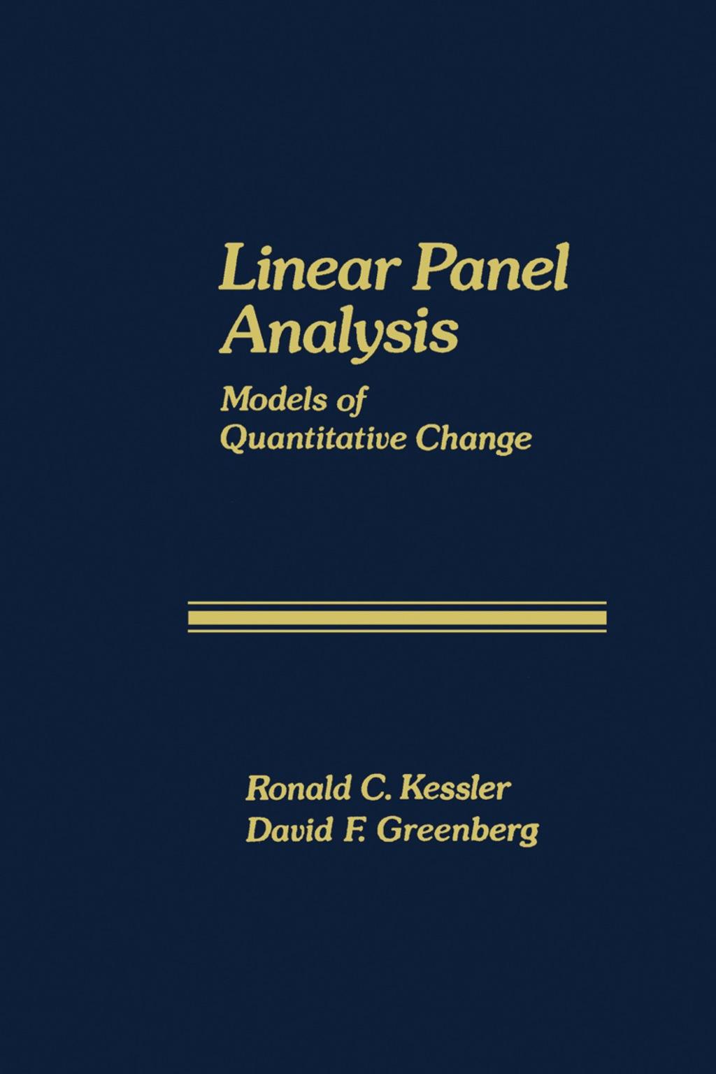 Linear Panel Analysis (eBook)