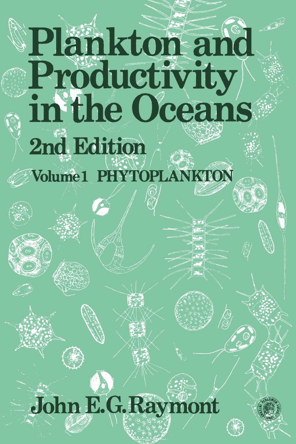Plankton & Productivity in the Oceans (eBook)