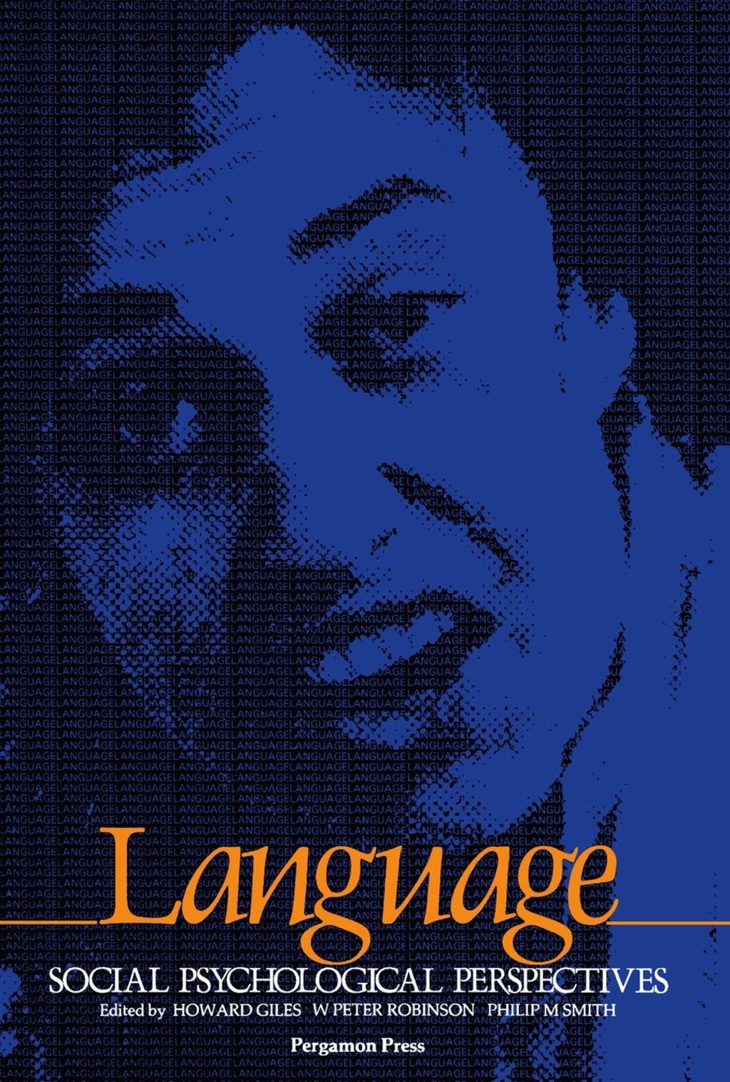 Language: Social Psychological Perspectives (eBook)