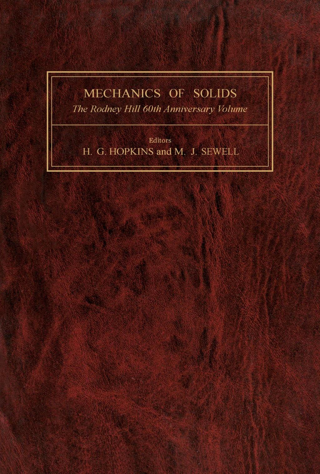 Mechanics of Solids (eBook)