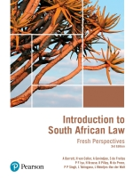 """""""Introduction to South African Law: Fresh Perspectives 3/E ePDF"""" (9781485702115)"""