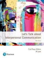 Let's Talk about Interpersonal Communication 5/E ePDF