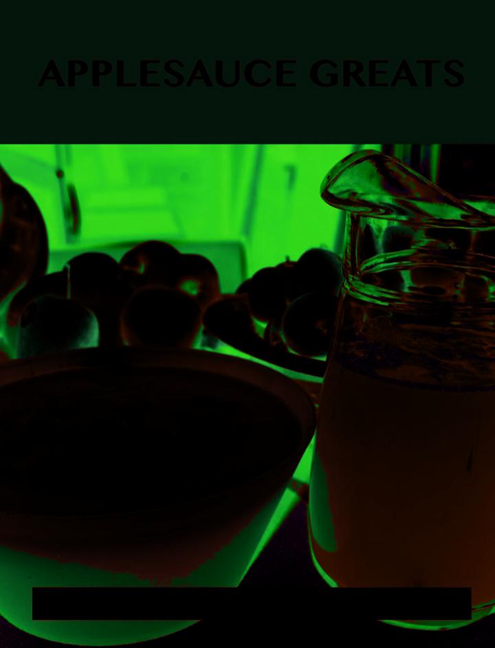 Applesauce Greats: Delicious Applesauce Recipes, The Top 63 Applesauce Recipes