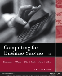 Computing for business success pearson original ebook 4th edition computing for business success pearson original ebook fandeluxe Images