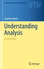"""Understanding Analysis"" (9781493927128)"