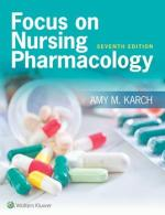 """Focus on Nursing Pharmacology"" (9781496318220)"