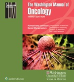 """The Washington Manual of Oncology"" (9781496318244)"