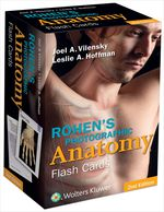 """Rohen's Photographic Anatomy Flash Cards"" (9781496319623)"