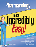 """Pharmacology Made Incredibly Easy!"" (9781496351838)"