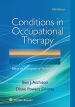 """Conditions in Occupational Therapy"" (9781496366795)"