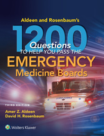 """Aldeen and Rosenbaum's 1200 Questions to Help You Pass the Emergency Medicine Boards"" (9781496367600)"