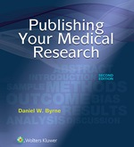 """Publishing Your Medical Research"" (9781496367778)"