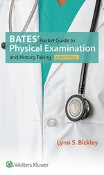 """Bates' Pocket Guide to Physical Examination and History Taking"" (9781496372598)"