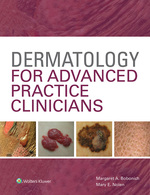 """Dermatology for Advanced Practice Clinicians"" (9781496375285)"