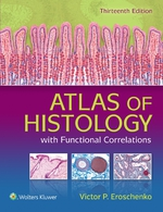 """Atlas of Histology with Functional Correlations"" (9781496379474)"