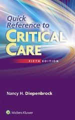"""Quick Reference to Critical Care"" (9781496379801)"