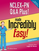 """NCLEX-PN Q&A Plus! Made Incredibly Easy!"" (9781496380852)"