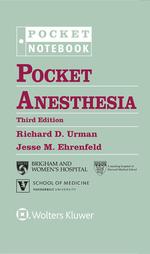 """""""Pocket Anesthesia"""" (9781496381378)"""