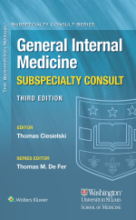 """Washington Manual® General Internal Medicine Consult"" (9781496381538)"