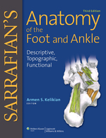 """Sarrafian's Anatomy of the Foot and Ankle"" (9781496382481)"