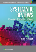 """Systematic Reviews to Answer Health Care Questions"" (9781496384317)"