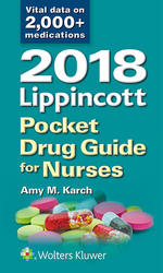 """2018 Lippincott Pocket Drug Guide for Nurses"" (9781496399465)"