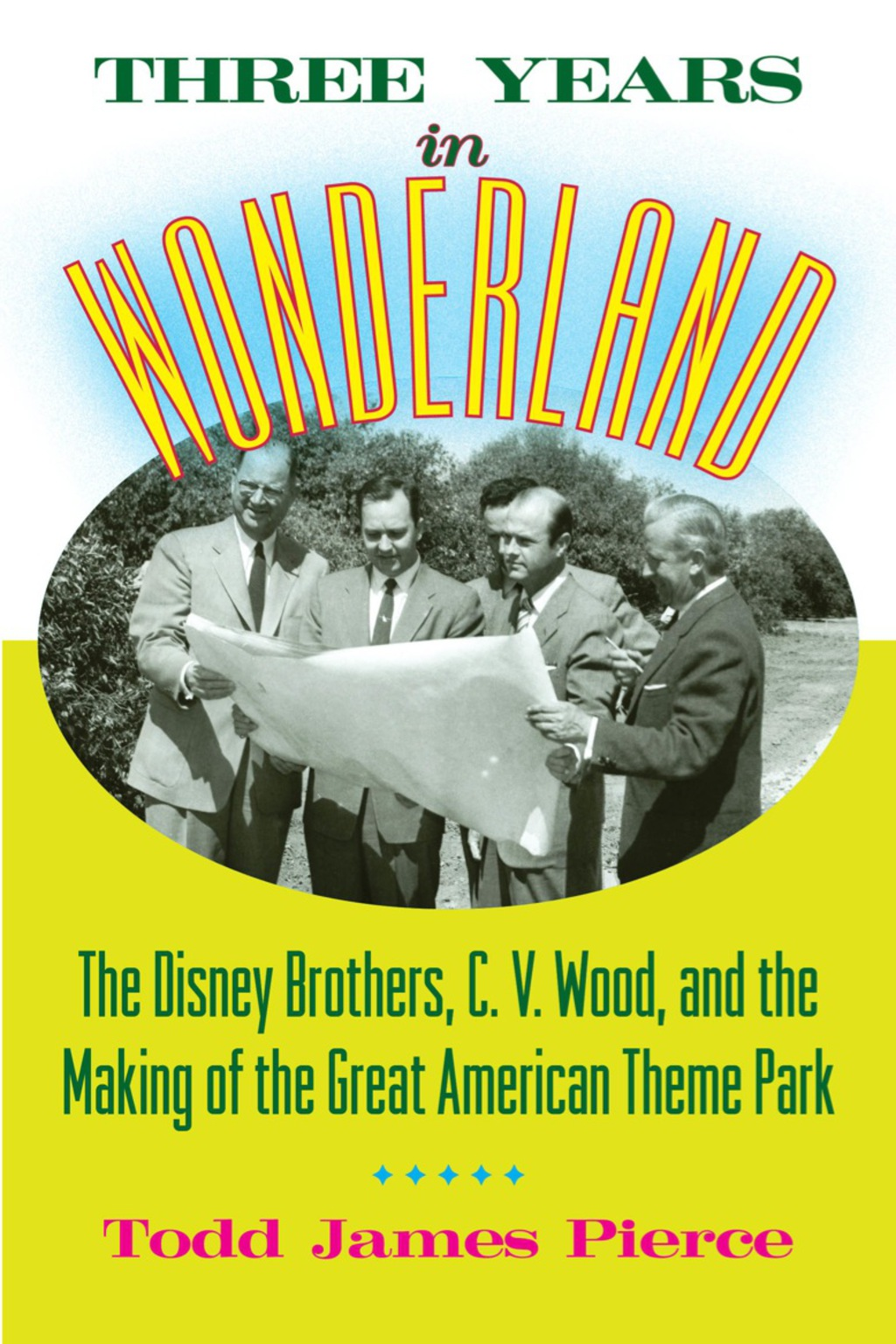 Three Years in Wonderland (eBook)