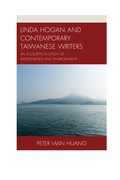 Linda Hogan and Contemporary Taiwanese Writers: An Ecocritical Study of Indigeneities and Environment 9781498521635
