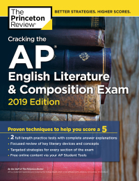 Cracking the AP English Literature & Composition Exam, 2019 Edition              by             The Princeton Review