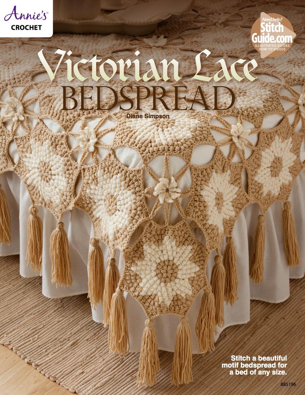 Victorian Lace Bedspread (eBook)