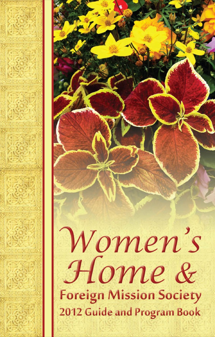 2012 Women's Home and Foreign Missions
