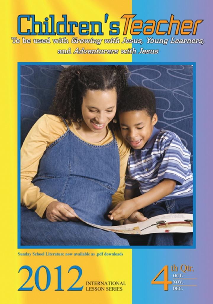 Children's Teacher: 4th Quarter 2012